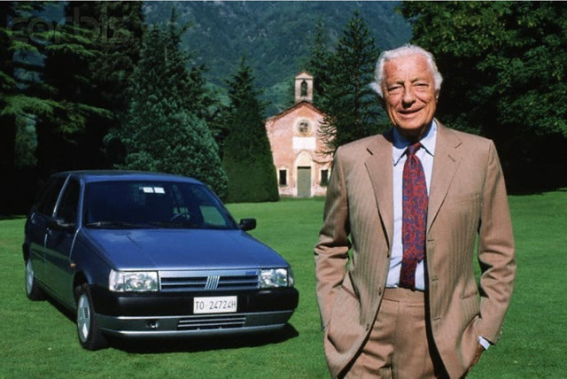 2. Gianni Agnelli in solaro