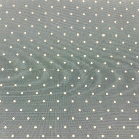 ICE BLUE WITH SMALL WHITE SPOT 100% VISCOSE