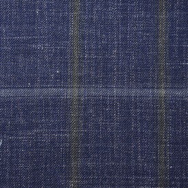 HARRISONS INDIGO 80% WOOL 20% LINEN