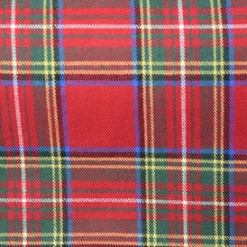 TARTANS RED/YELLOW COTTON 100%